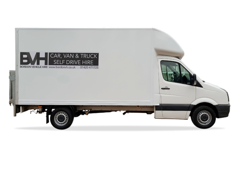 Luton With Tail Lift   Car Hire Deals